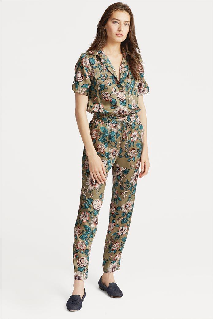 Lauren Ralph Lauren γυναικεία ολόσωμη φόρμα floral Twill Jumpsuit 0