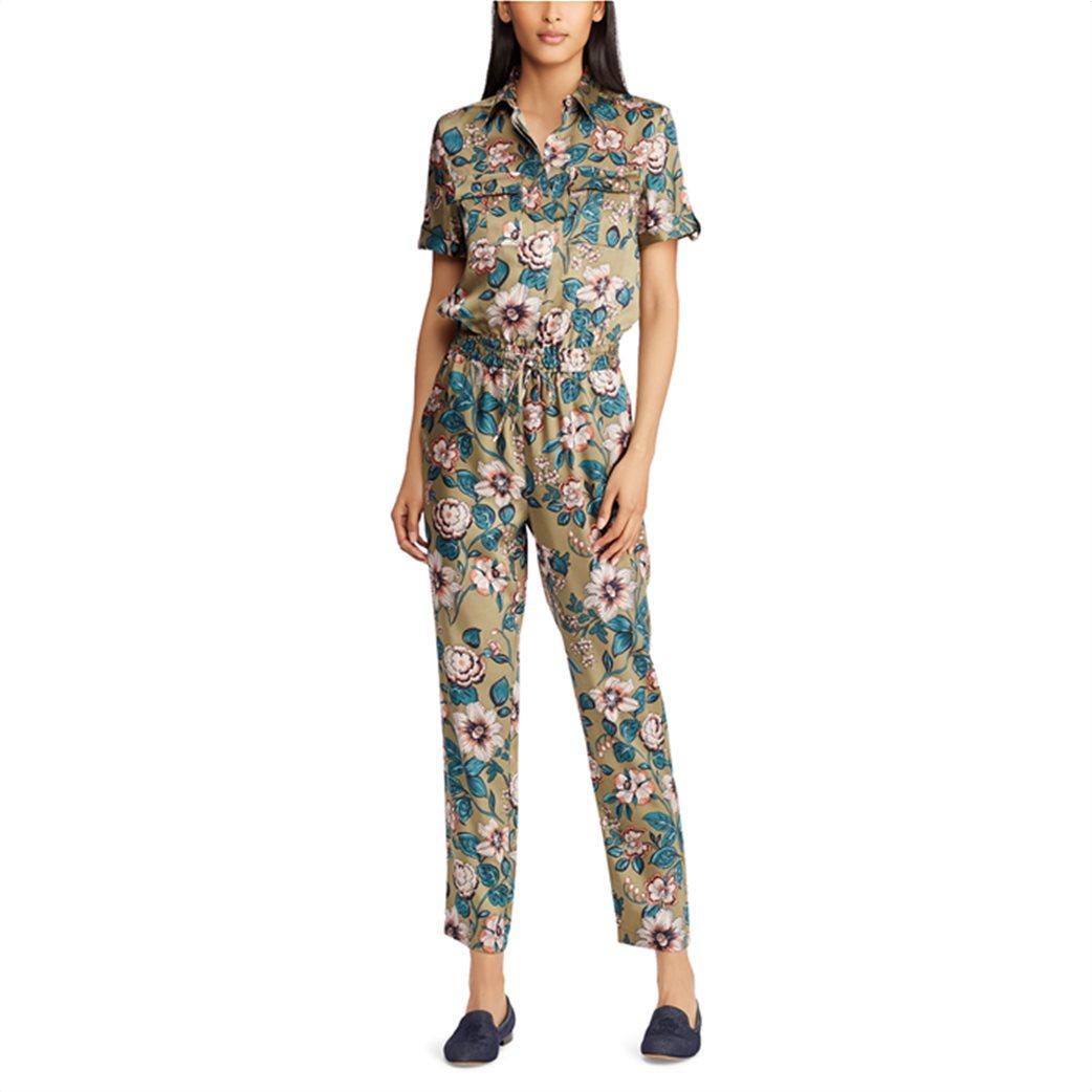 Lauren Ralph Lauren γυναικεία ολόσωμη φόρμα floral Twill Jumpsuit 2