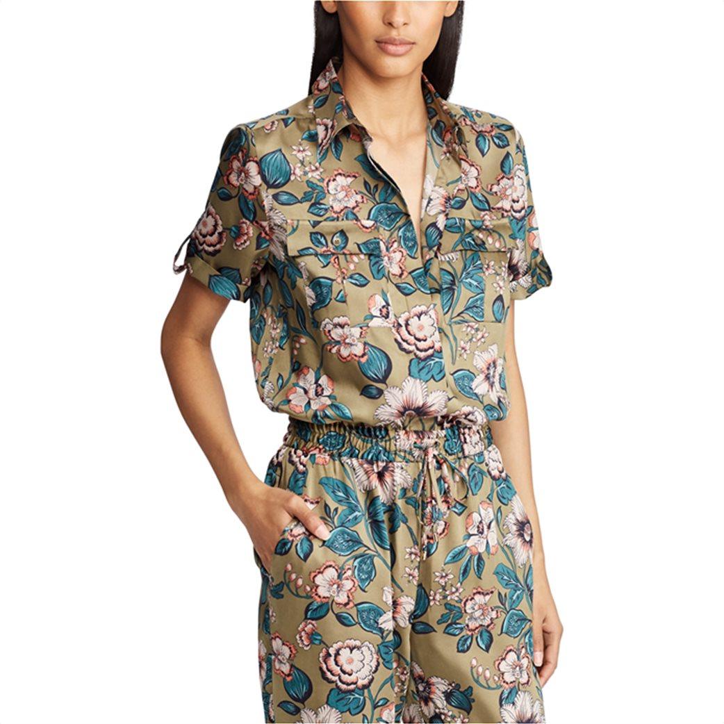 Lauren Ralph Lauren γυναικεία ολόσωμη φόρμα floral Twill Jumpsuit 4