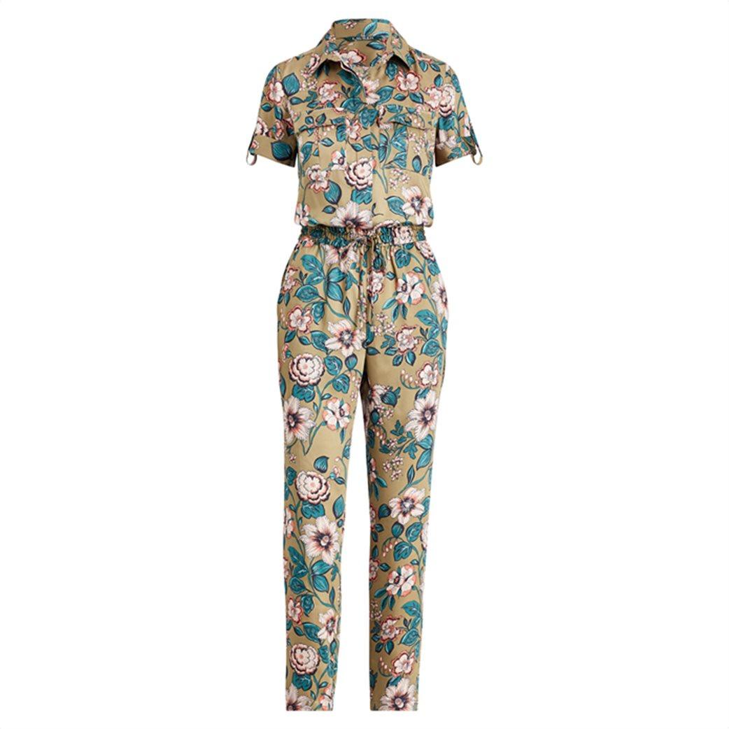 Lauren Ralph Lauren γυναικεία ολόσωμη φόρμα floral Twill Jumpsuit 5