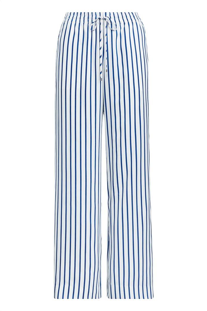 Lauren Ralph Lauren γυναικεία ριγέ παντελόνα Striped Drawcord Twill 0