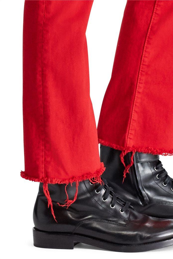 Polo Ralph Lauren γυναικείο τζην παντελόνι The Chrystie Kick Flare Crop Κόκκινο 4