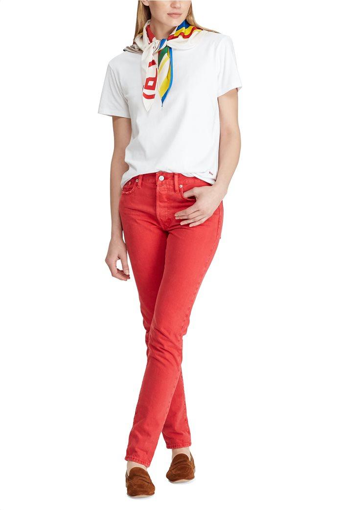 Polo Ralph Lauren γυναικεία μπλούζα με μαντήλι Silk-Neck-Scarf 2