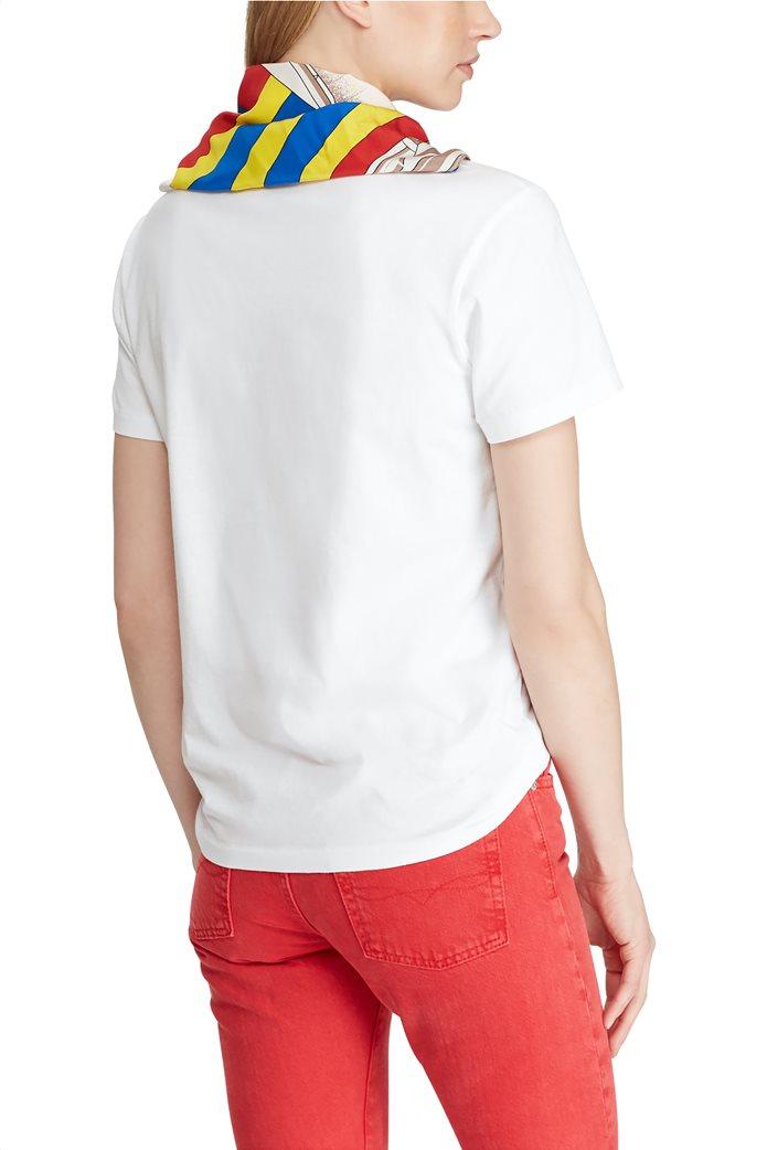 Polo Ralph Lauren γυναικεία μπλούζα με μαντήλι Silk-Neck-Scarf 3