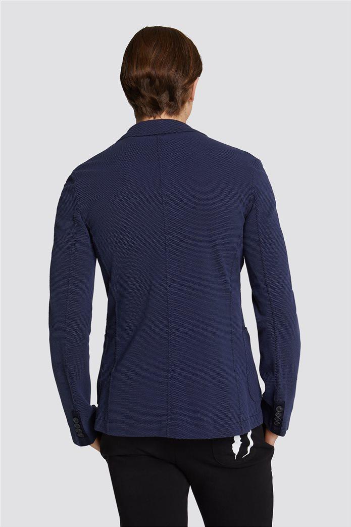 Τrussardi Jeans ανδρικό σακάκι Slim fit 1
