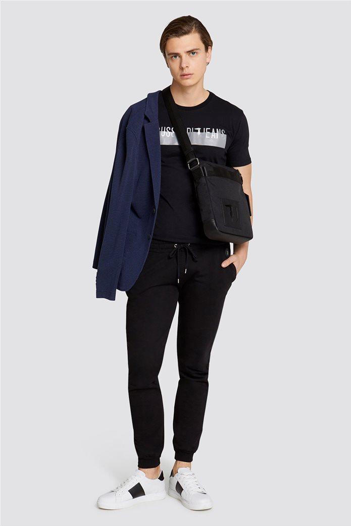 Τrussardi Jeans ανδρικό σακάκι Slim fit 2