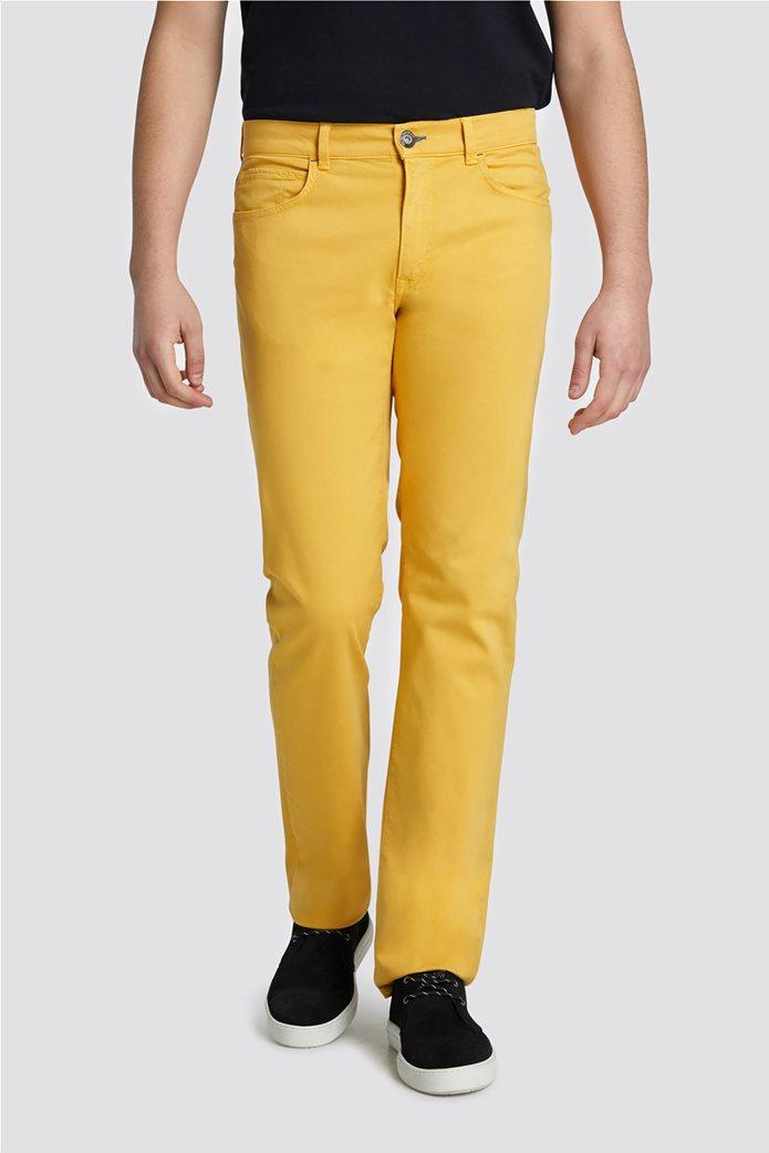 Trussardi Jeans ανδρικό παντελόνι Icon Seasonal 380 Μουσταρδί 0
