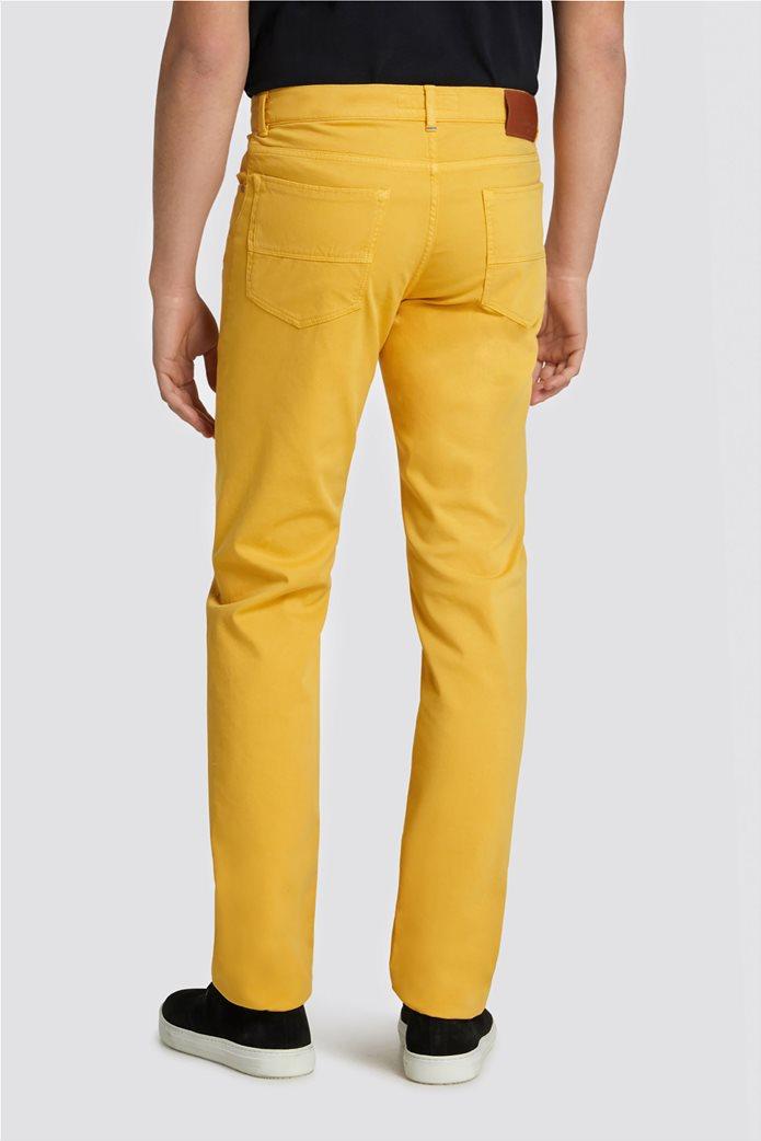 Trussardi Jeans ανδρικό παντελόνι Icon Seasonal 380 Μουσταρδί 1