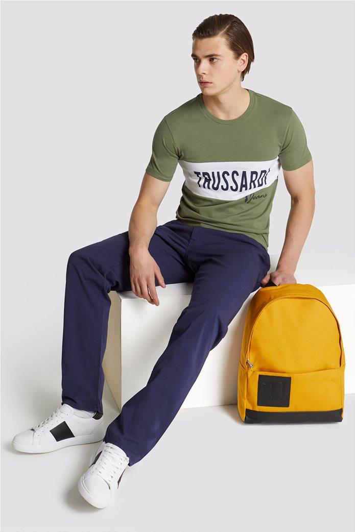 Trussardi Jeans ανδρικό πεντάτσεπο παντελόνι Icon Basic 380 2