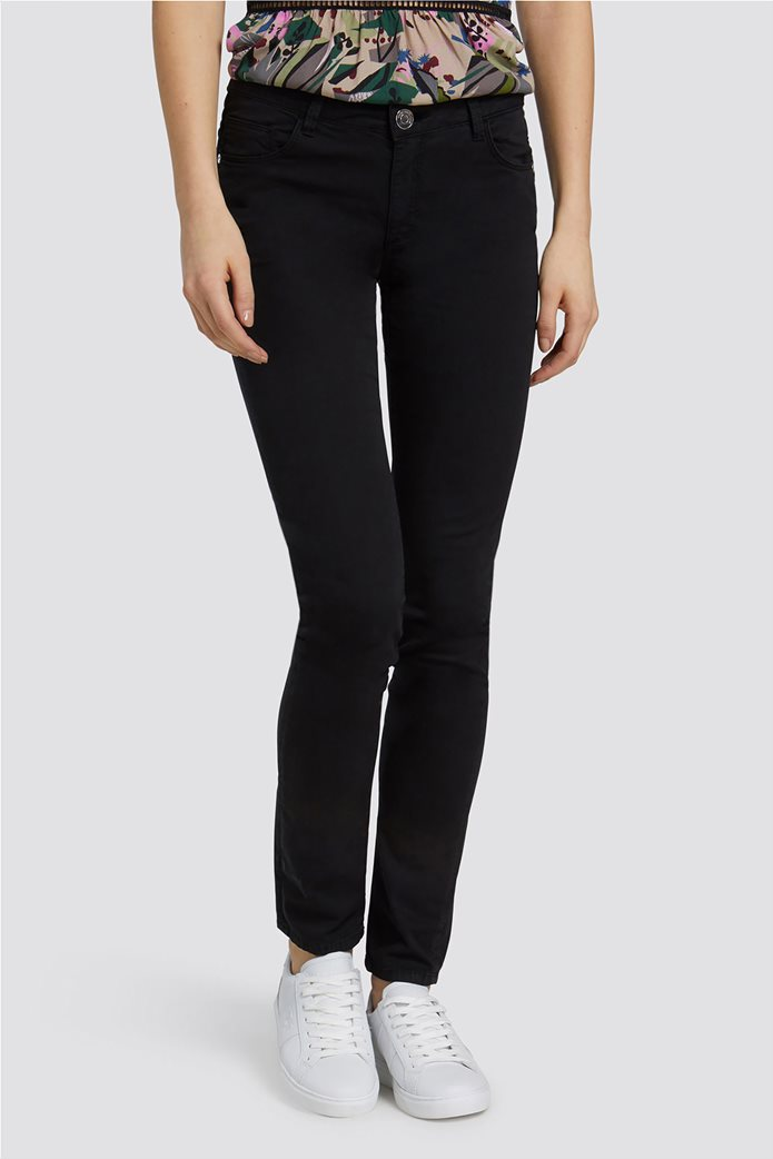 Trussardi Jeans γυναικείο παντελόνι Regular Basic 260 Μαύρο 0