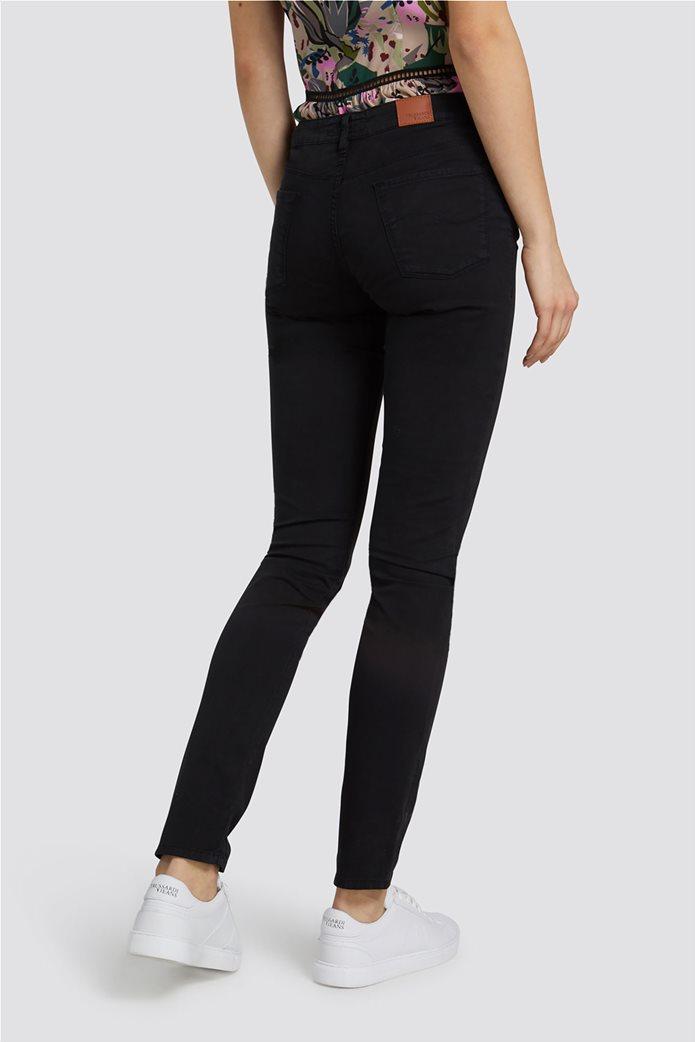 Trussardi Jeans γυναικείο παντελόνι Regular Basic 260 Μαύρο 2