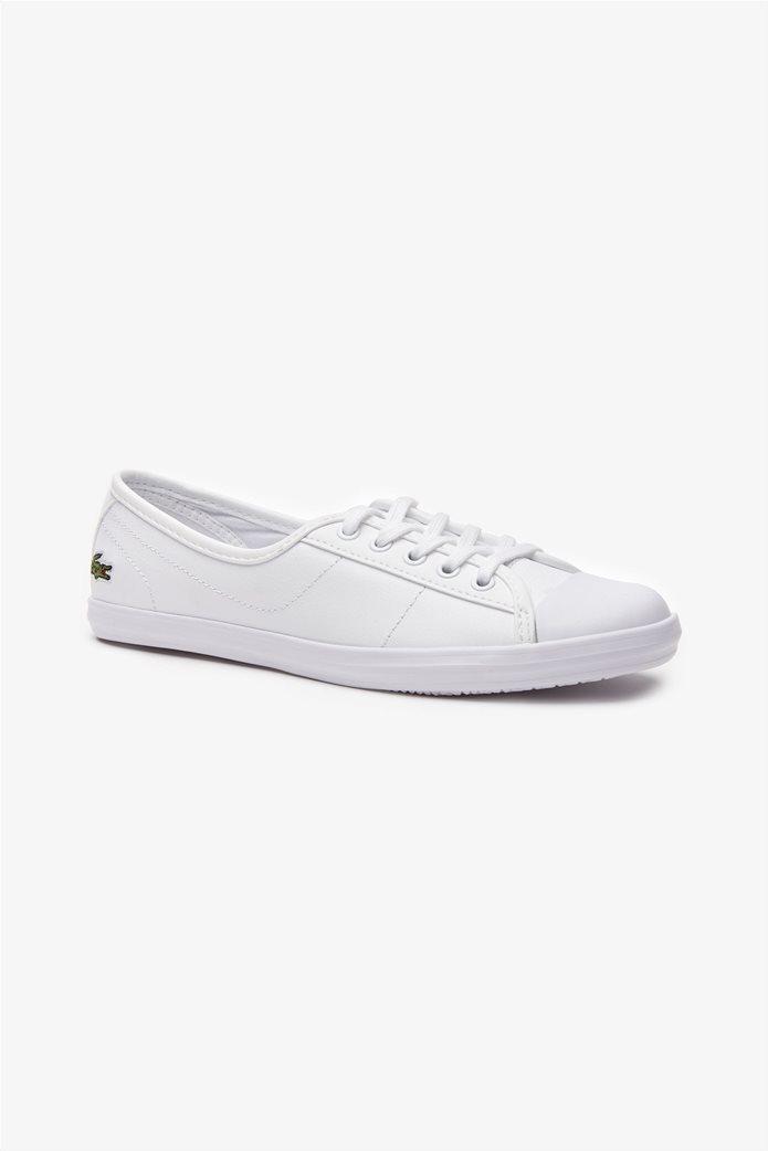 Lacoste γυναικεία sneakers με κορδόνια Ziane Λευκό 0