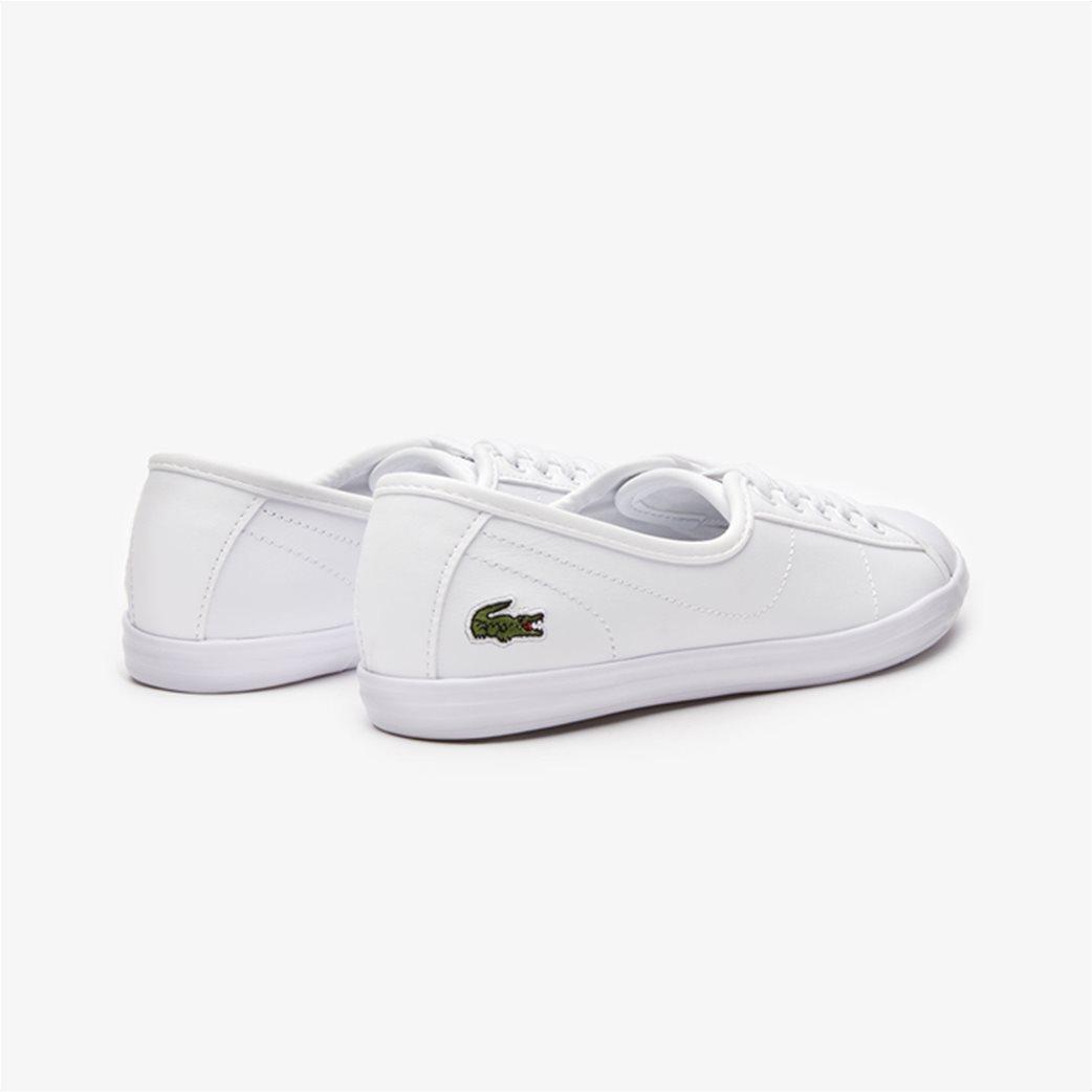 Lacoste γυναικεία sneakers με κορδόνια Ziane Λευκό 2