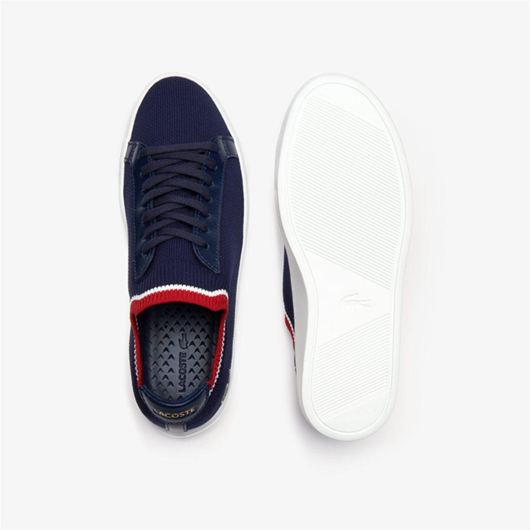 Lacoste ανδρικά υφασμάτινα sneakers  Piquée Μπλε Σκούρο 2