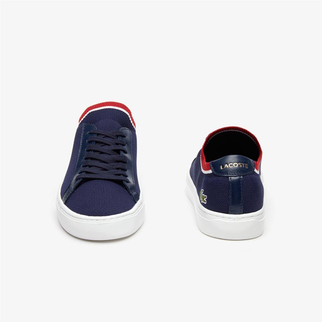 Lacoste ανδρικά υφασμάτινα sneakers  Piquée Μπλε Σκούρο 3