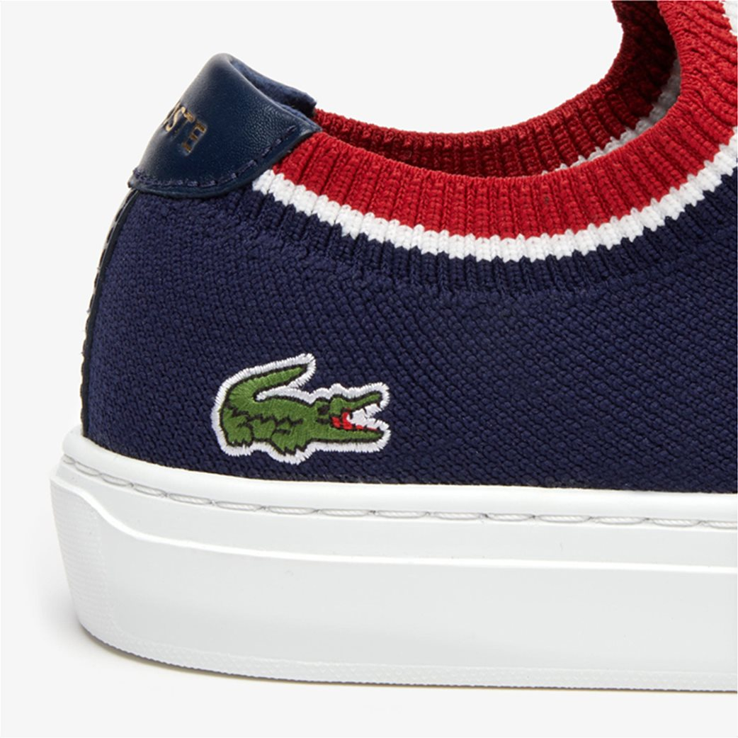 Lacoste ανδρικά υφασμάτινα sneakers  Piquée Μπλε Σκούρο 4