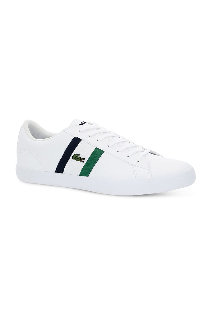 Lacoste ανδρικά sneakers με κορδόνια και ύφασμα Lerond 0