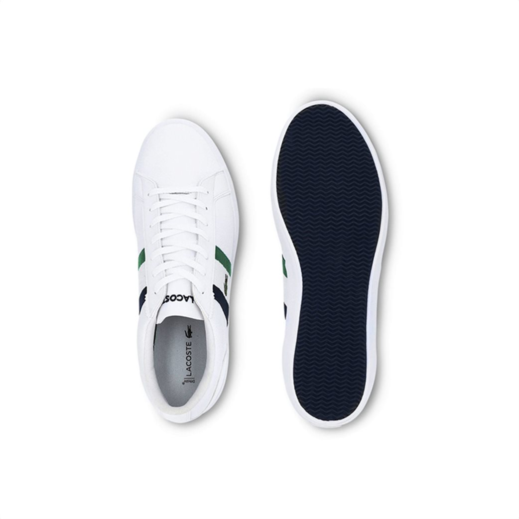 Lacoste ανδρικά sneakers με κορδόνια και ύφασμα Lerond 3
