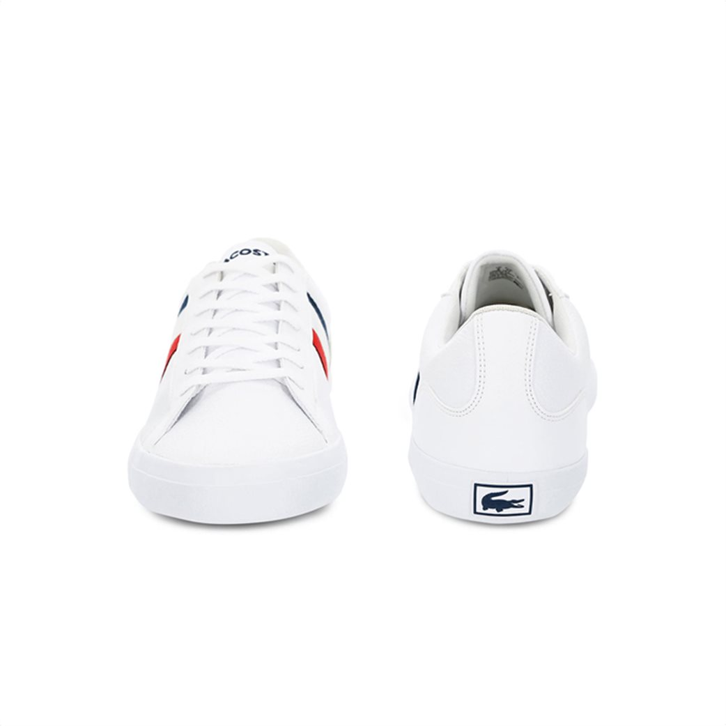 Lacoste ανδρικά sneakers με κορδόνια και κεντημένο λογότυπο Lerond 4