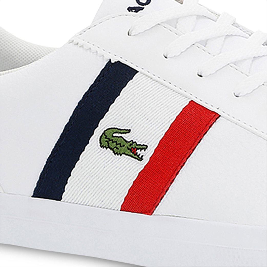 Lacoste ανδρικά sneakers με κορδόνια και κεντημένο λογότυπο Lerond 5