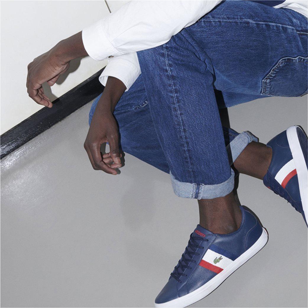Lacoste ανδρικά sneakers με κορδόνια Lerond 6