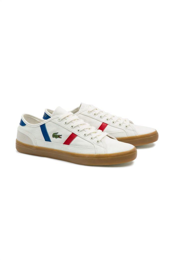 Lacoste ανδρικά sneakers με κορδόνια Sideline 1