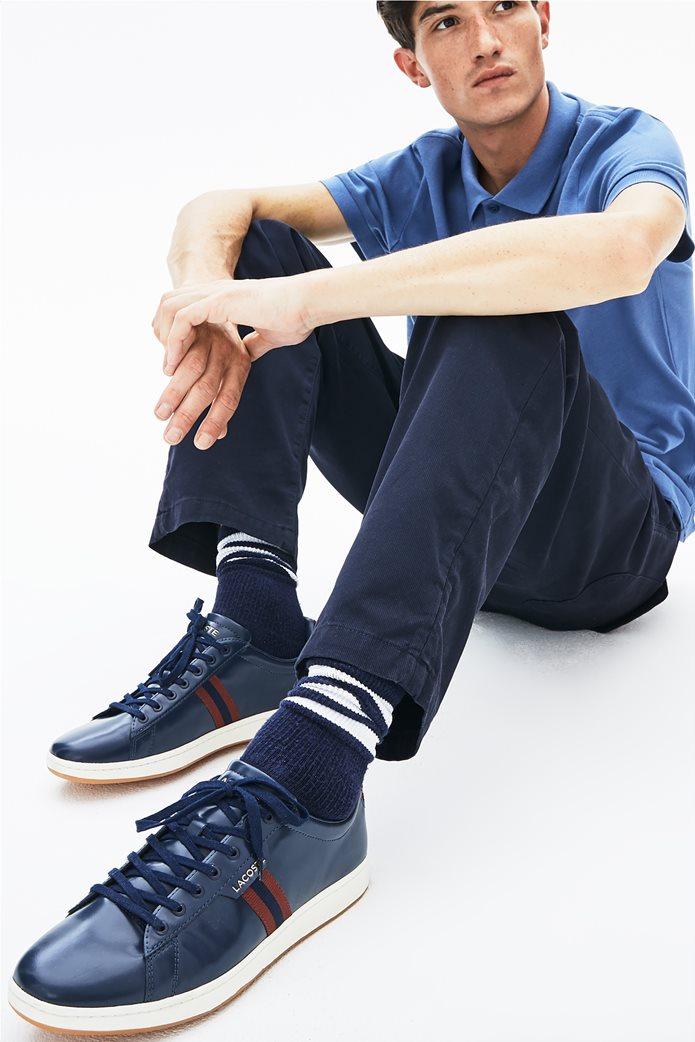 Lacoste ανδρικά sneakers με ριγέ φάσα Carnaby Evo Tricolour 0