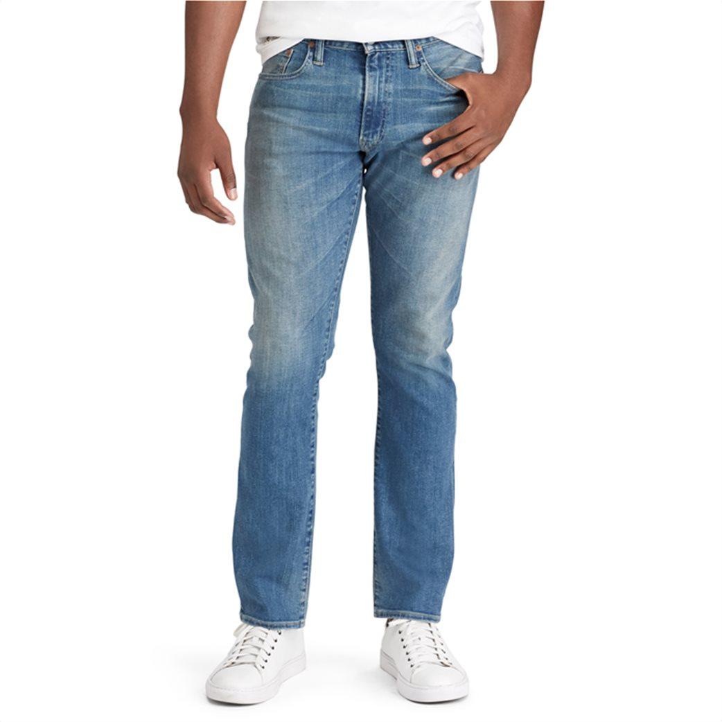 Polo Ralph Lauren ανδρικό τζην παντελόνι Varick Slim Straight Jean Γαλάζιο 1