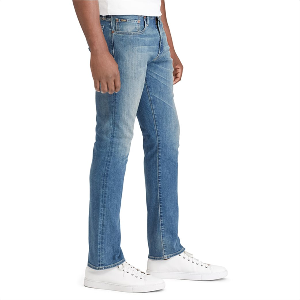 Polo Ralph Lauren ανδρικό τζην παντελόνι Varick Slim Straight Jean Γαλάζιο 3