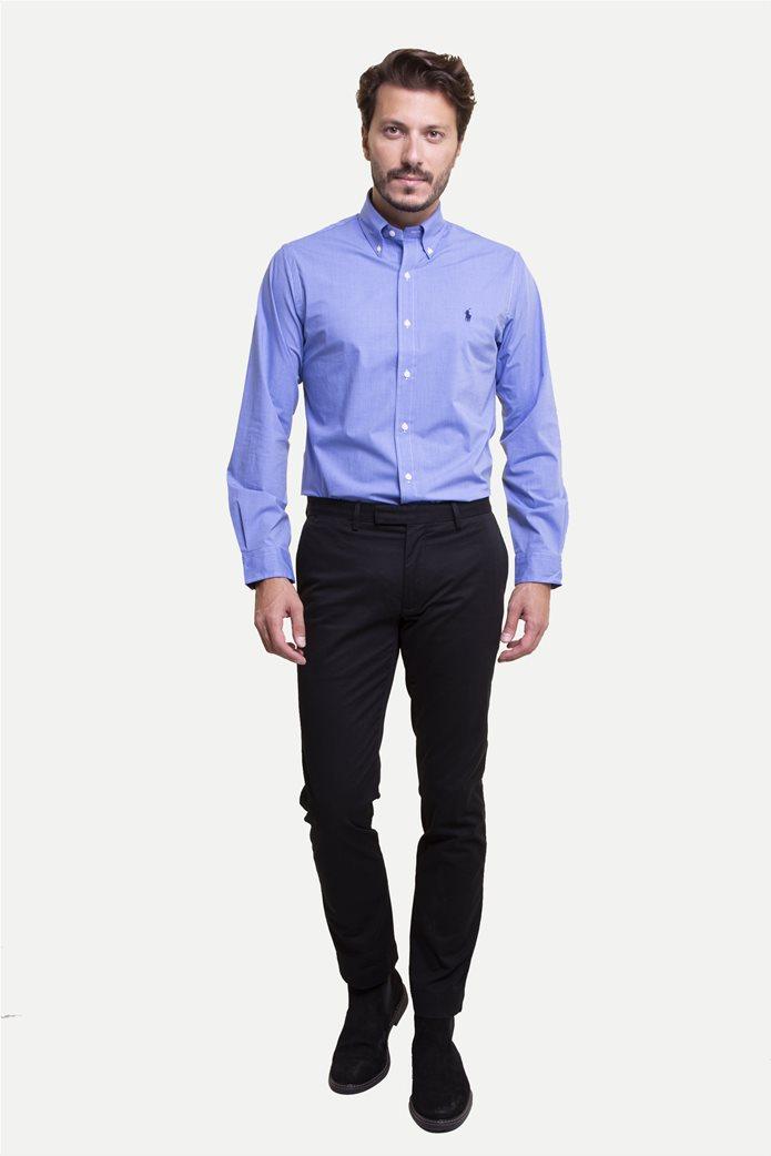 Polo Ralph Lauren ανδρικό παντελόνι Stretch Slim Fit Chino Μαύρο 0