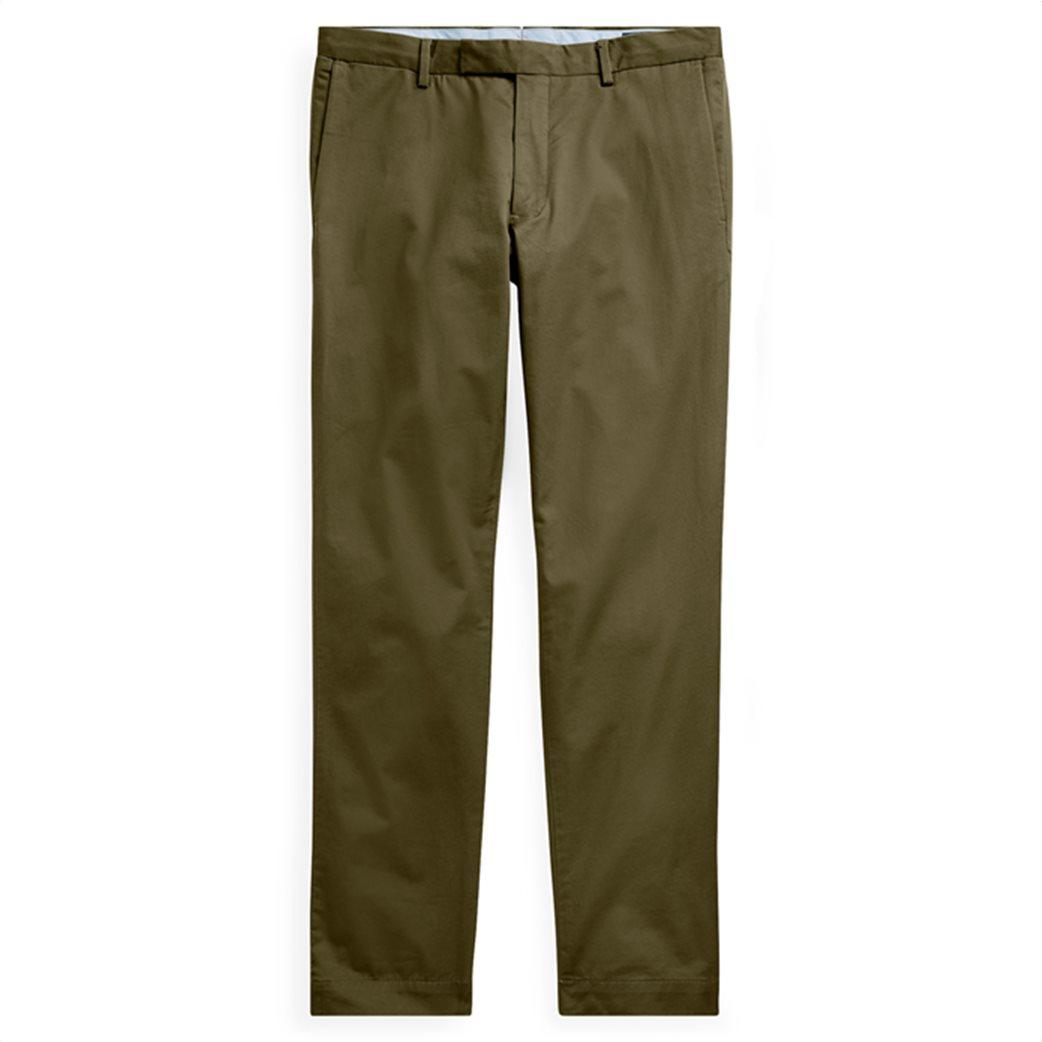 Polo Ralph Lauren ανδρικό παντελόνι Slim Fit Chino Λαδί 1