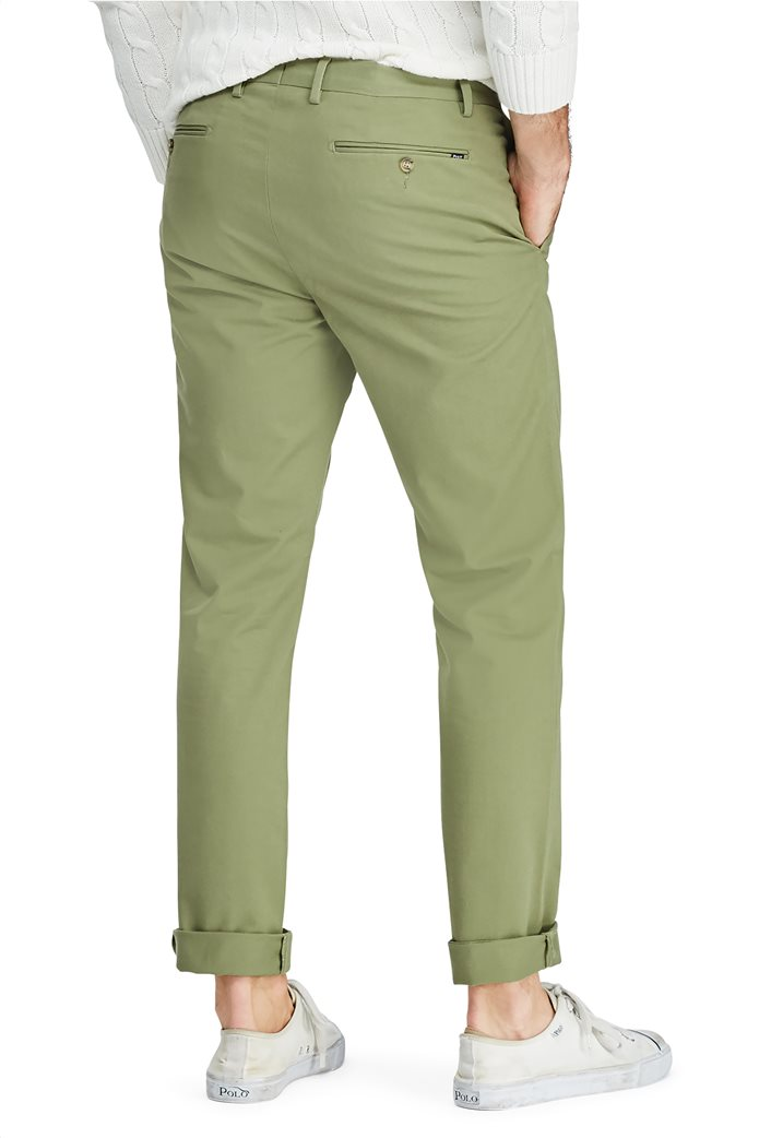 Polo Ralph Lauren ανδρικό παντελόνι Stretch Slim Fit Chino 3