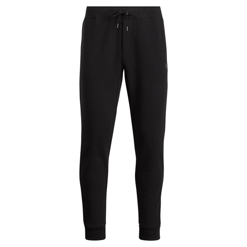 Polo Ralph Lauren ανδρικό μαύρο παντελόνι Double-knitted Jogger Μαύρο 5