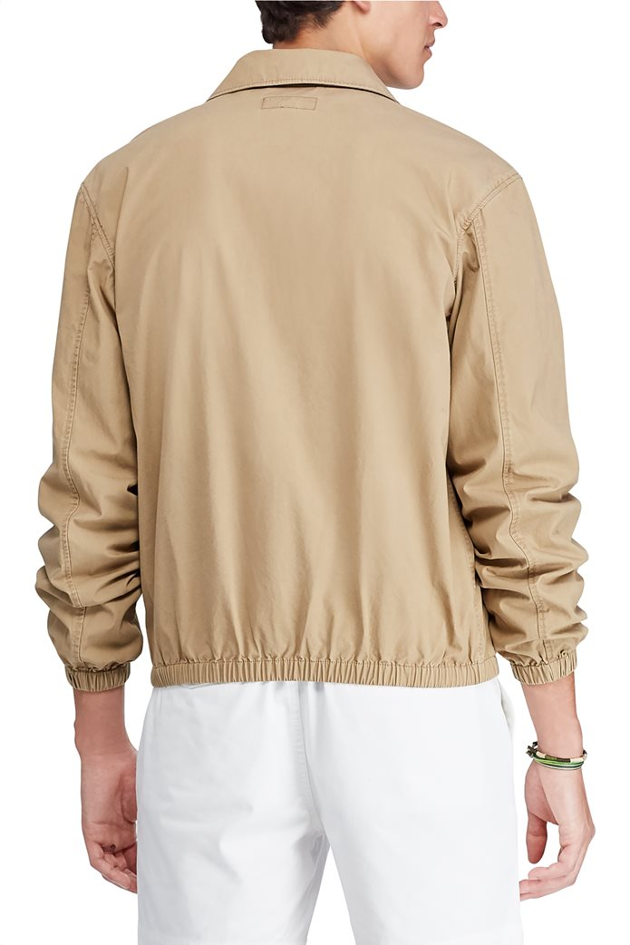 Polo Ralph Lauren ανδρικό μπουφάν μονόχρωμο Μπεζ 3