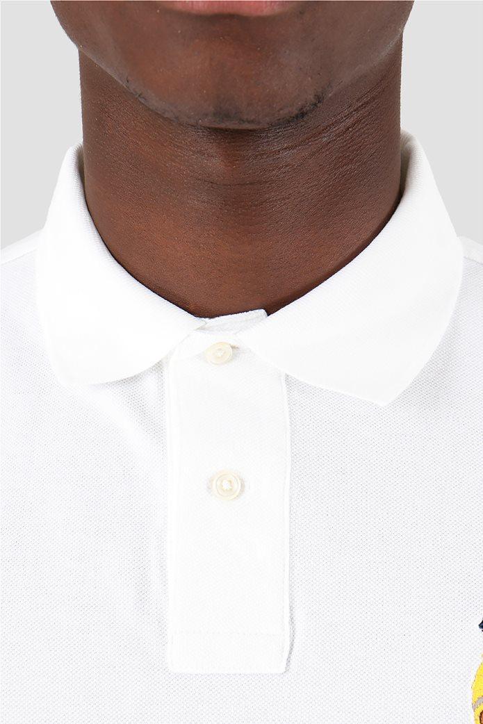 Polo Ralph Lauren ανδρική polo μπλούζα κοντομάνικη με κεντημένο polo bear 1