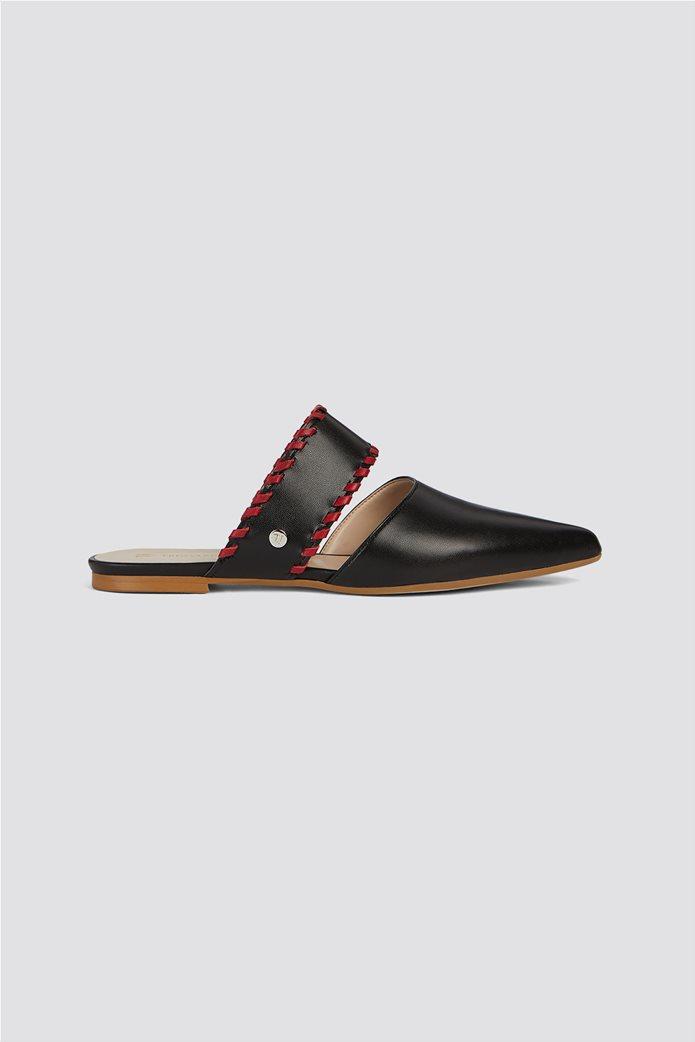 Trussardi Jeans γυναικεία παπούτσια flat mules 0
