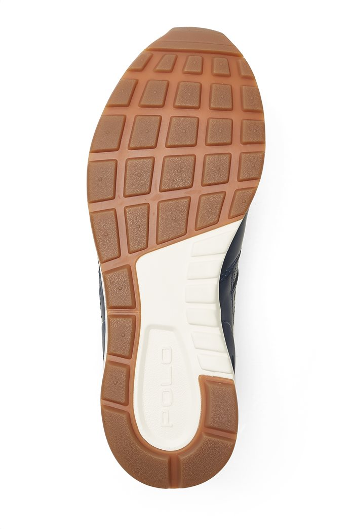 Polo Ralph Lauren ανδρικά παπούτσια δερμάτινα με κορδόνια 3