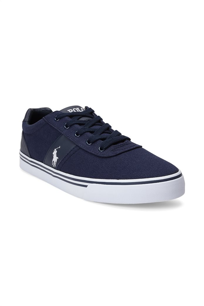Polo Ralph Lauren ανδρικά sneakers υφασμάτινα Hanford Μπλε Σκούρο 1