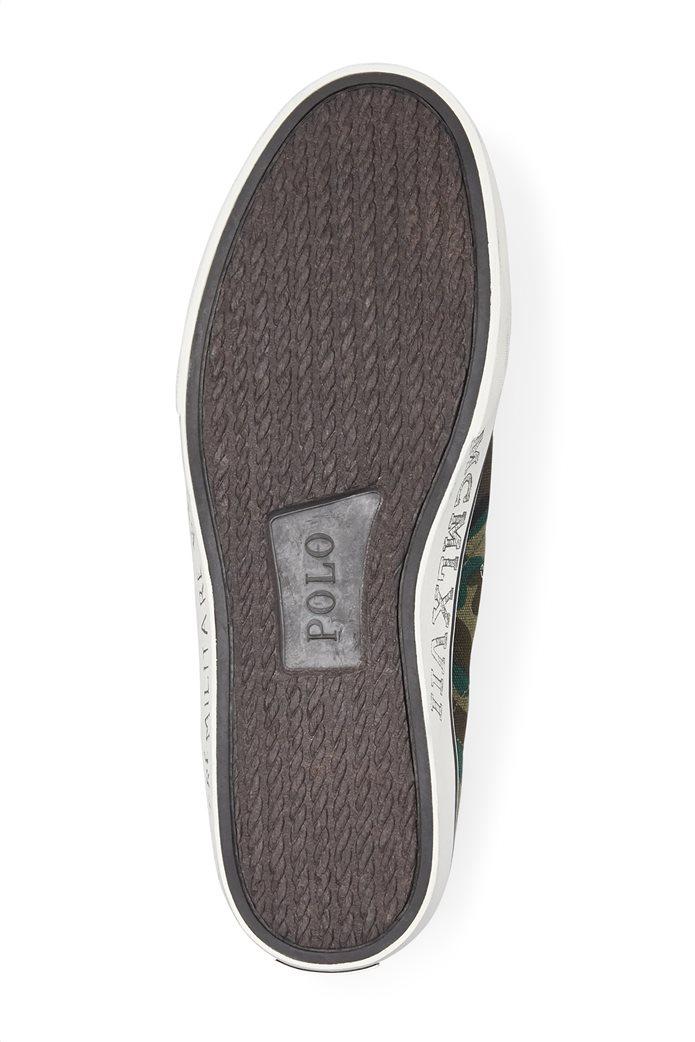 Polo Ralph Lauren ανδρικά μποτάκια με κορδόνια military 3