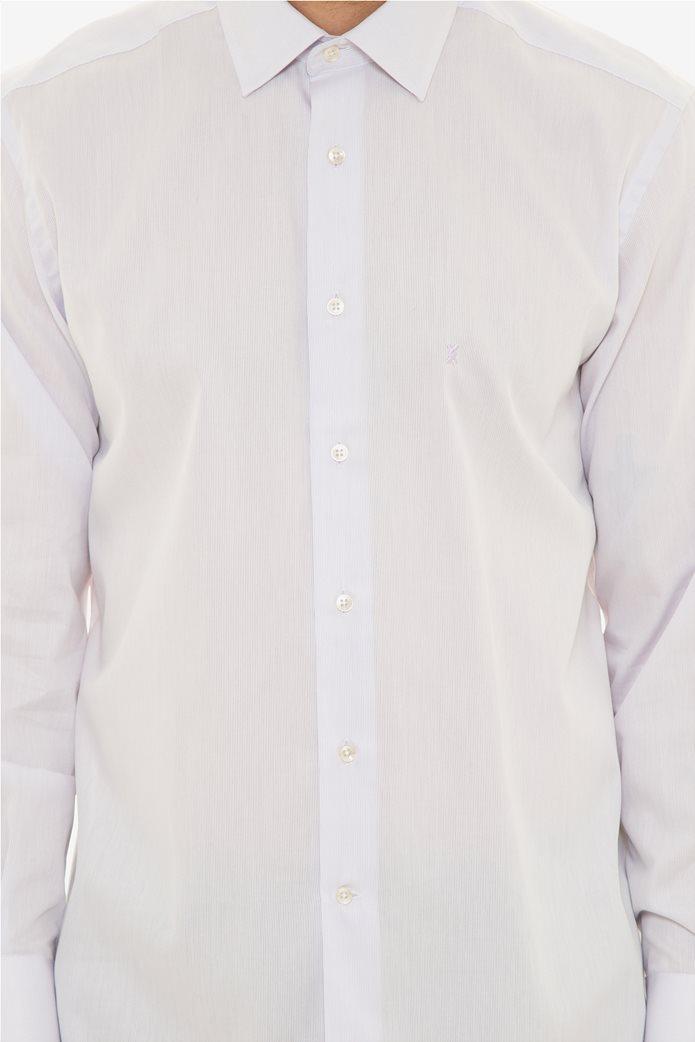 The Bostonians ανδρικό πουκάμισο μονόχρωμο 4
