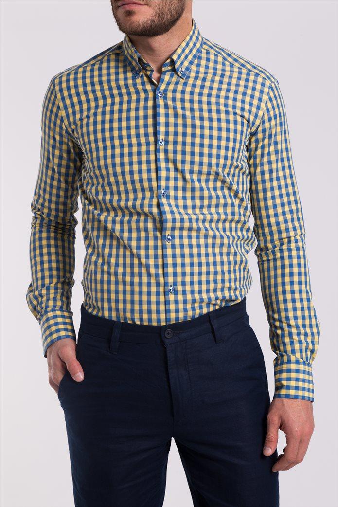 Ανδρικό καρό πουκάμισο The Bostonians 1