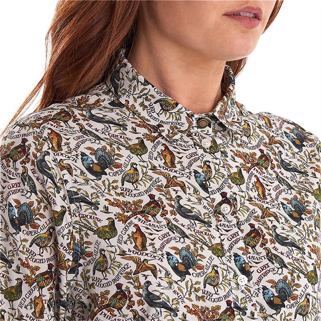 "Barbour γυναικείο πουκάμισο με all over print ""Eleanor"" 2"