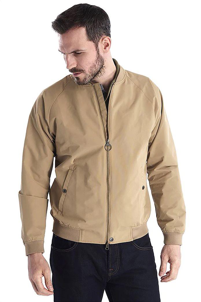 """Barbour ανδρικό bomber jacket μονόχρωμο """"Torksey"""" 1"""