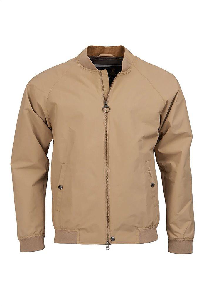 """Barbour ανδρικό bomber jacket μονόχρωμο """"Torksey"""" 4"""