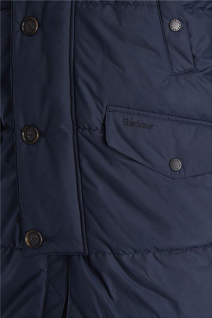 "Barbour ανδρικό μπουφάν καπιτονέ με κουκούλα με γούνα ""Fenny"" 3"