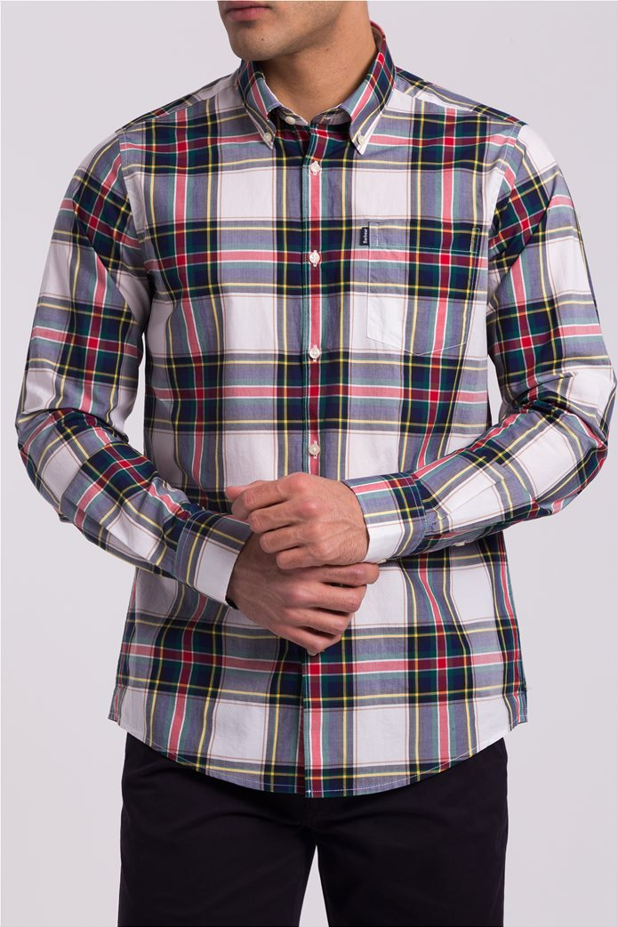 Ανδρικό καρό πουκάμισο Barbour 0