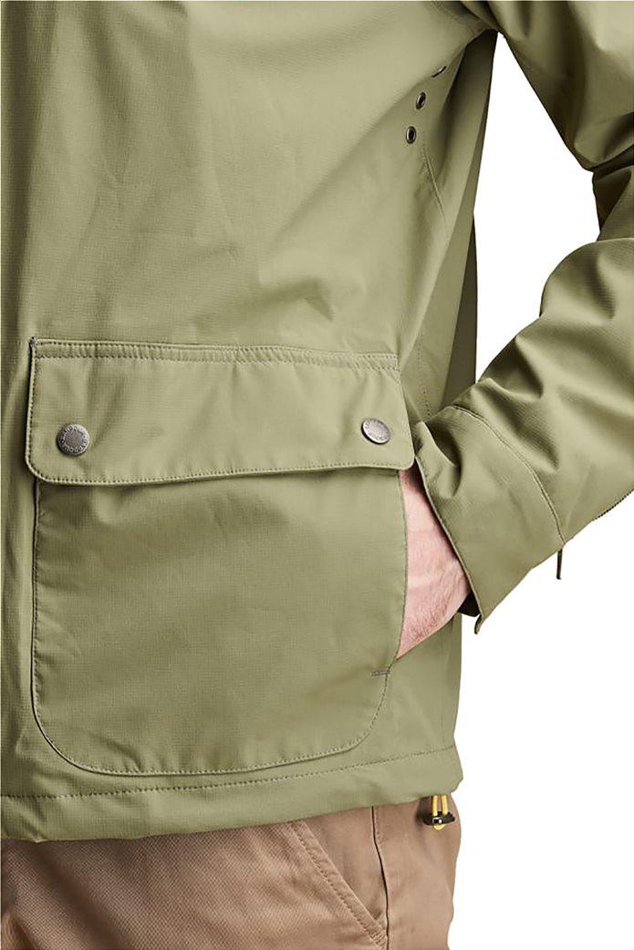 "Barbour ανδρικό μπουφάν με κουκούλα ""Howtown Waterproof"" 2"