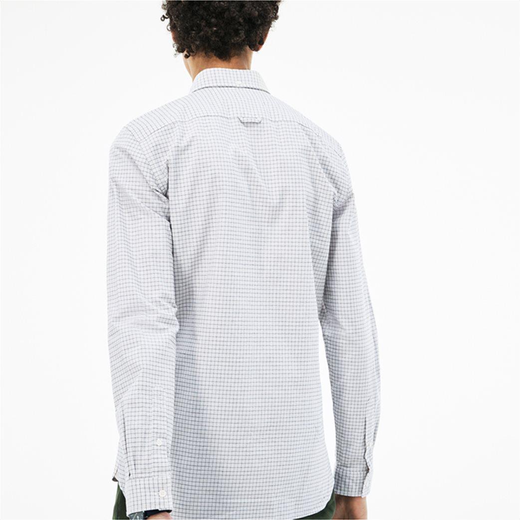 Lacoste ανδρικό πουκάμισο με καρό μικροσχέδιο The 4 Essential Shirts of the Season 1