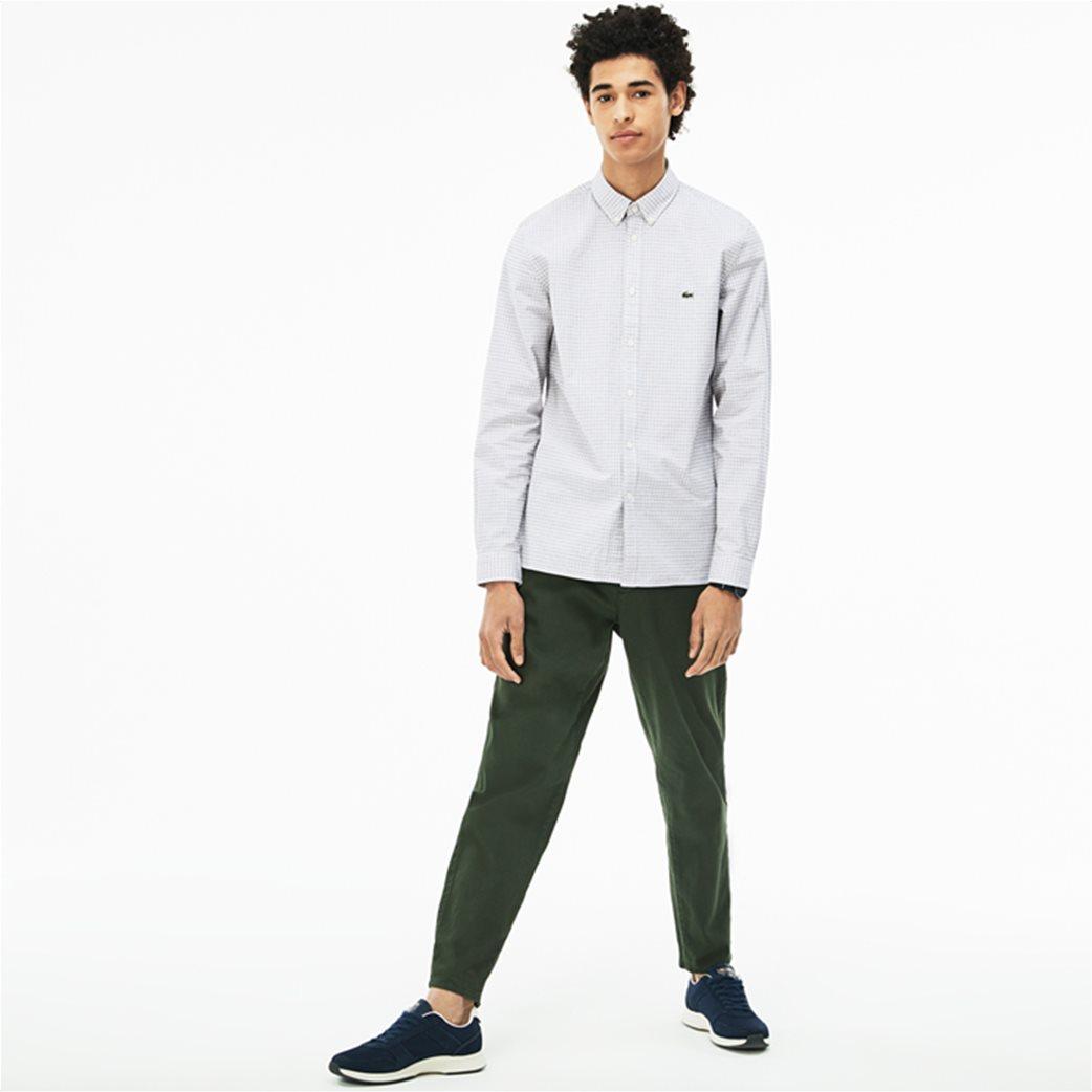 Lacoste ανδρικό πουκάμισο με καρό μικροσχέδιο The 4 Essential Shirts of the Season 2