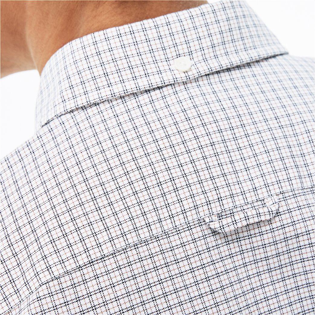 Lacoste ανδρικό πουκάμισο με καρό μικροσχέδιο The 4 Essential Shirts of the Season 4